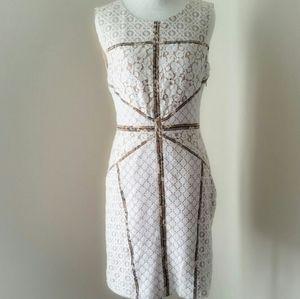 NWT BCBG Andreea White Dress